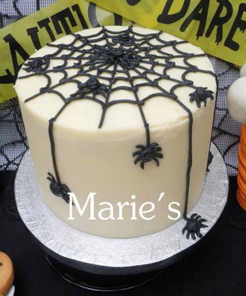 Foto della torta di Halloween n.08