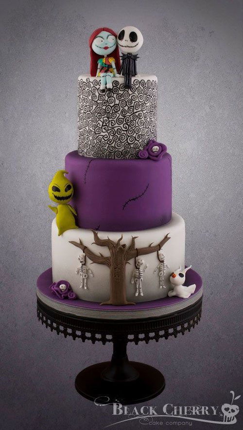 Foto della torta di Halloween n.09