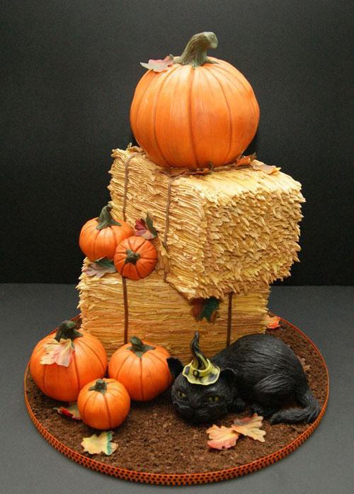Foto della torta di Halloween n.10