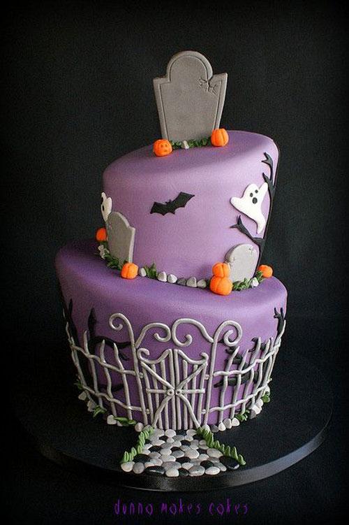 Foto della torta di Halloween n.11