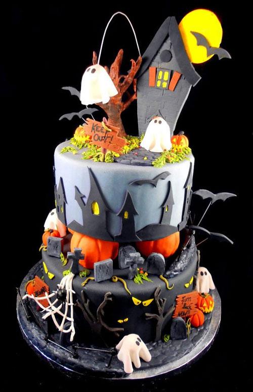 Foto della torta di Halloween n.12