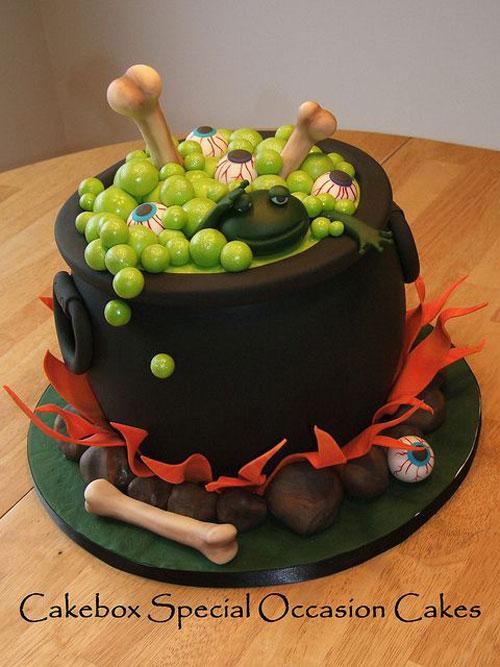 Foto della torta di Halloween n.13
