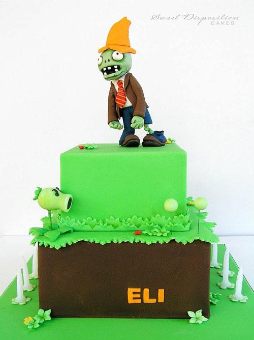 Foto della torta di Halloween n.14