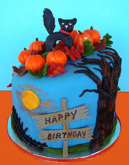 Foto della torta di Halloween n.17