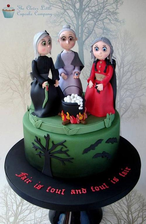 Foto della torta di Halloween n.18