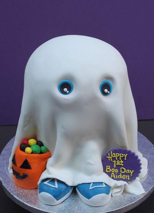 Foto della torta di Halloween n.19