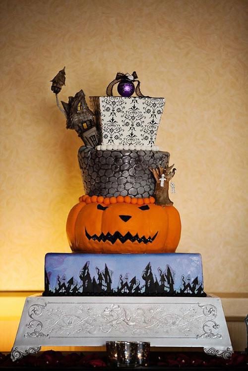 Foto della torta di Halloween n.21