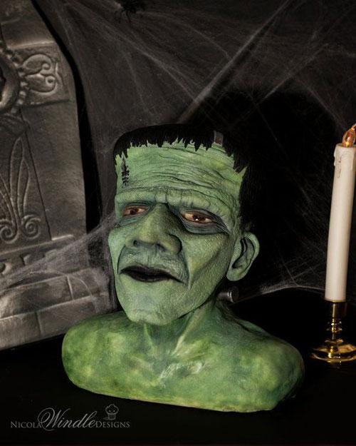 Foto della torta di Halloween n.23