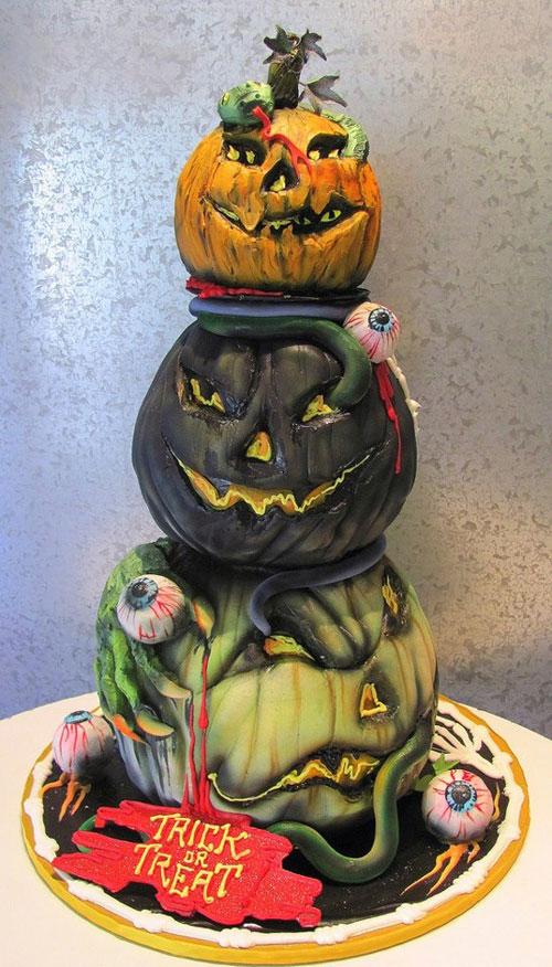 Foto della torta di Halloween n.24