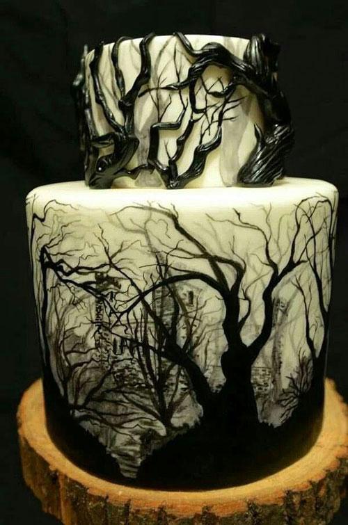 Foto della torta di Halloween n.25