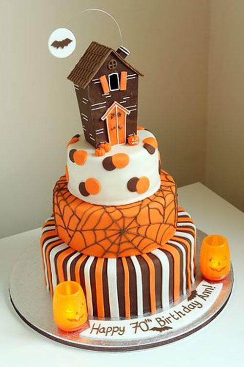 Foto della torta di Halloween n.27