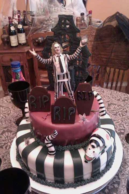 Foto della torta di Halloween n.29