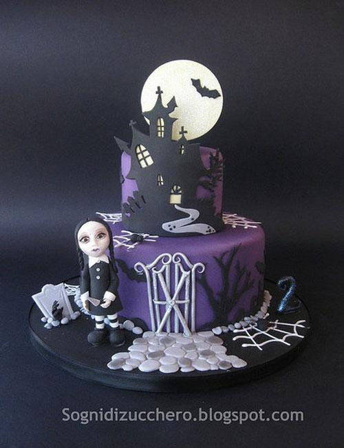 Foto della torta di Halloween n.30