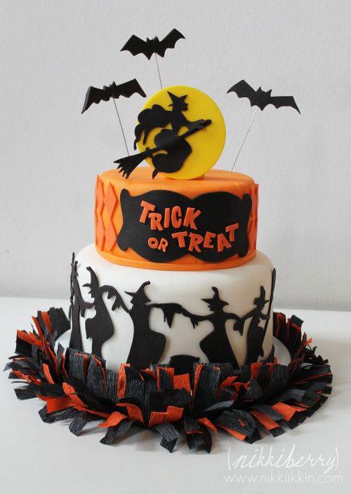 Foto della torta di Halloween n.32