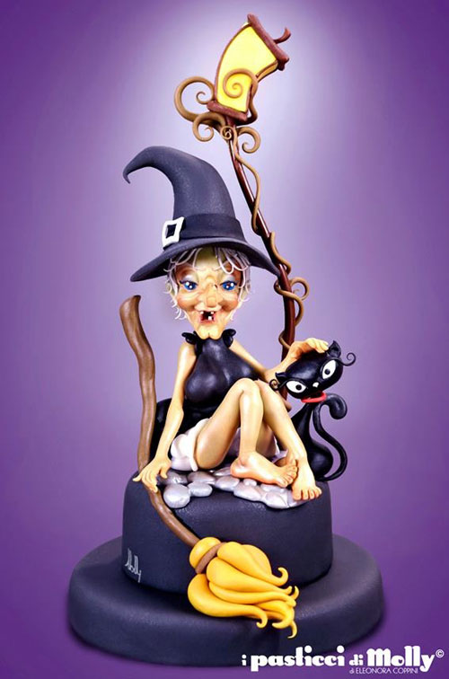 Foto della torta di Halloween n.33