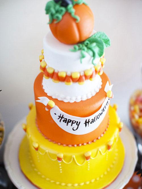 Foto della torta di Halloween n.35