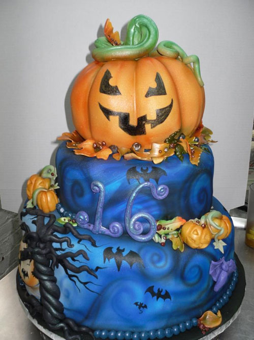 Foto della torta di Halloween n.36