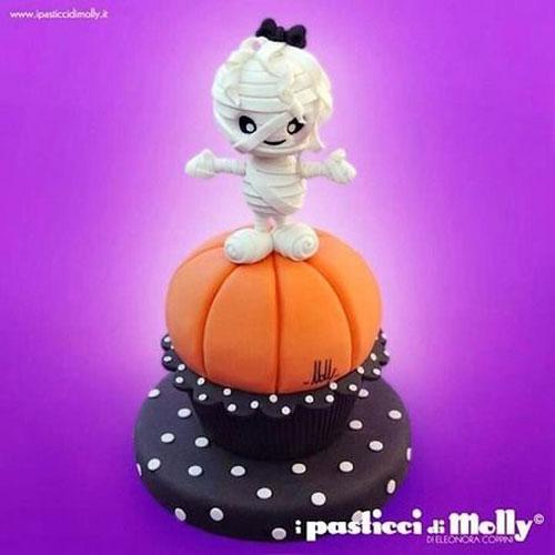 Foto della torta di Halloween n.37