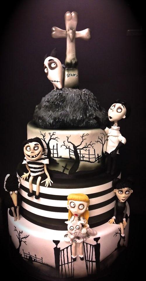 Foto della torta di Halloween n.39