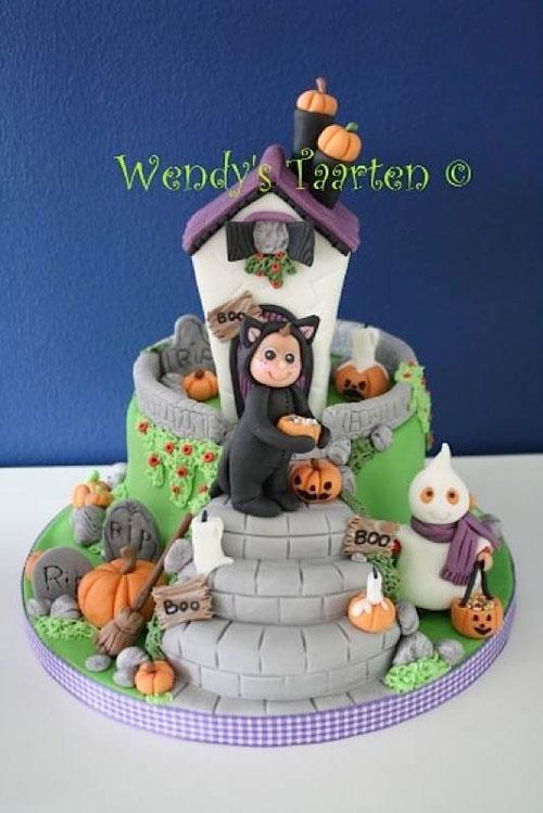 Foto della torta di Halloween n.43