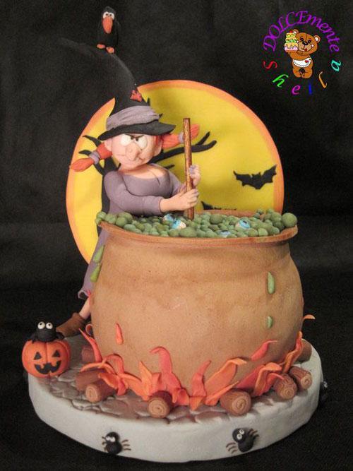 Foto della torta di Halloween n.44