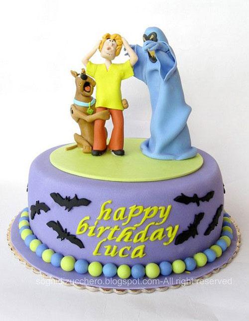 Foto della torta di Halloween n.47