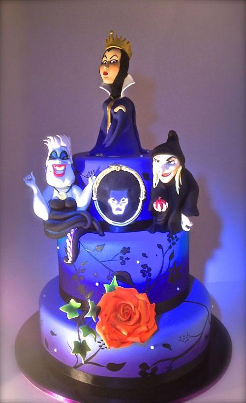 Foto della torta di Halloween n.48