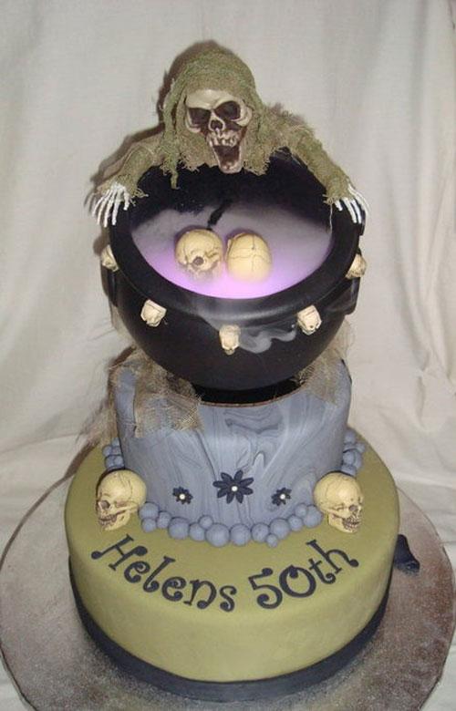 Foto della torta di Halloween n.49