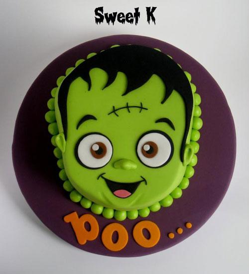 Foto della torta di Halloween n.51