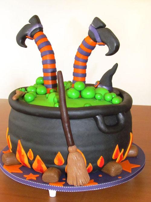 Foto della torta di Halloween n.52