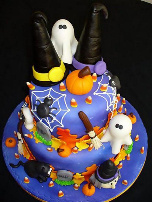 Foto della torta di Halloween n.53