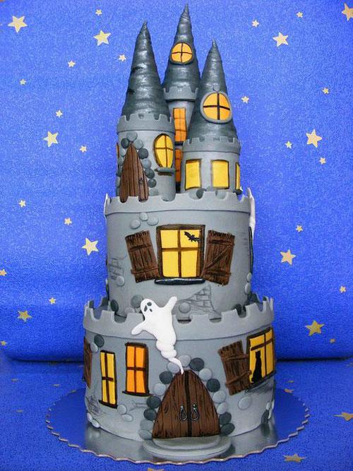 Foto della torta di Halloween n.54