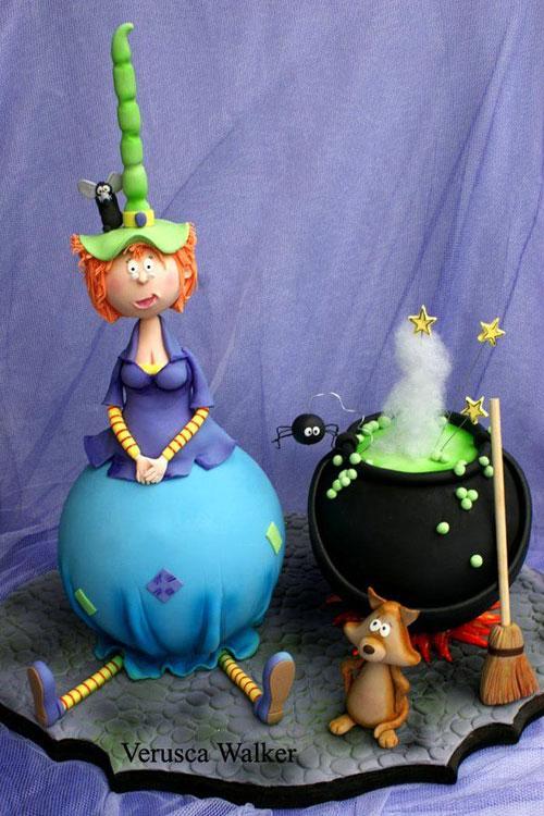 Foto della torta di Halloween n.55