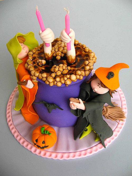 Foto della torta di Halloween n.56
