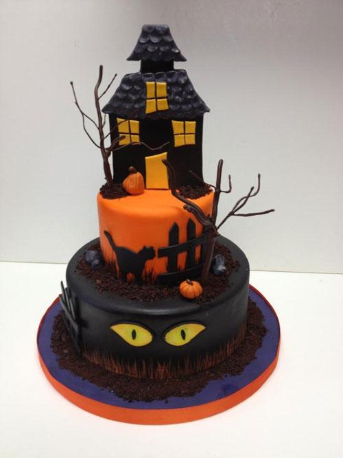 Foto della torta di Halloween n.58