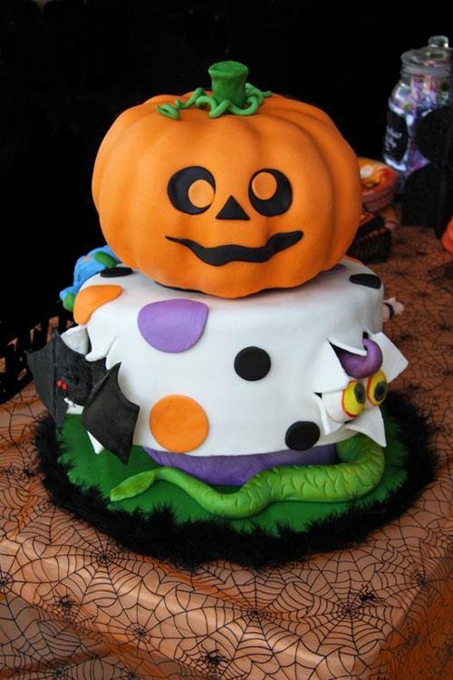 Foto della torta di Halloween n.65