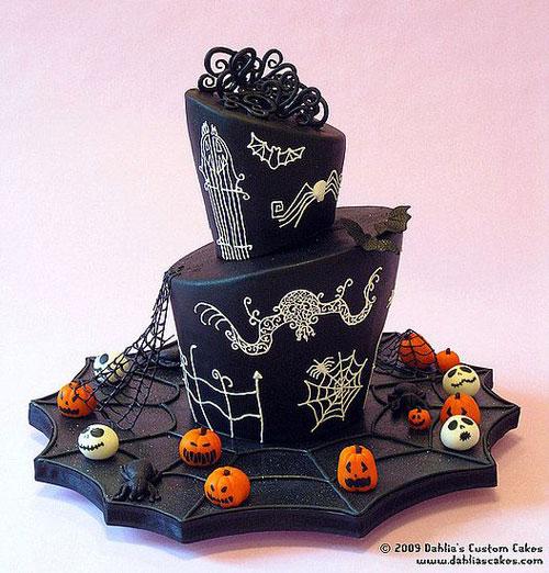 Foto della torta di Halloween n.68