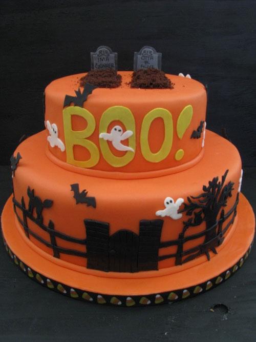Foto della torta di Halloween n.69