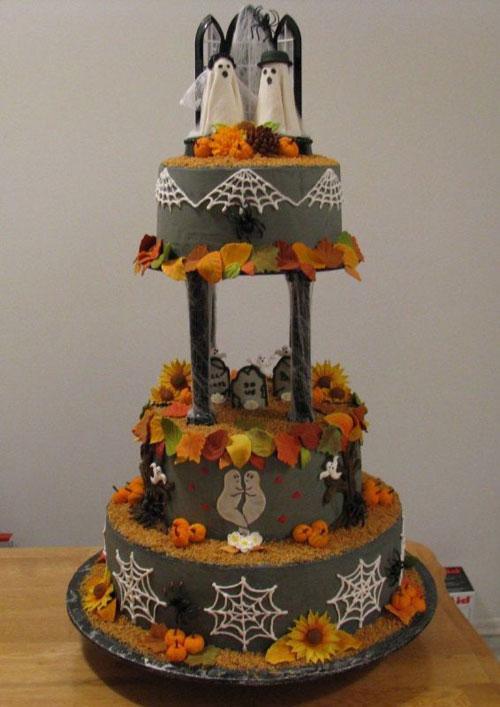 Foto della torta di Halloween n.70
