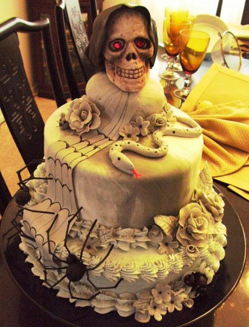 Foto della torta di Halloween n.72