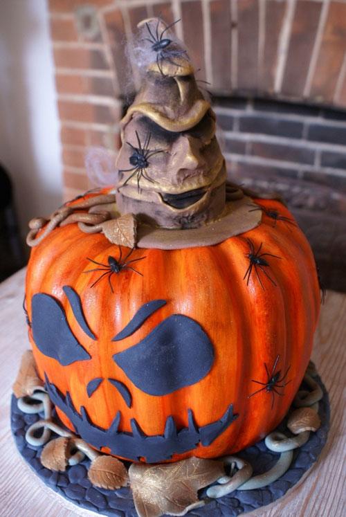 Foto della torta di Halloween n.73