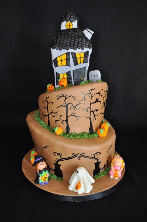 Foto della torta di Halloween n.75