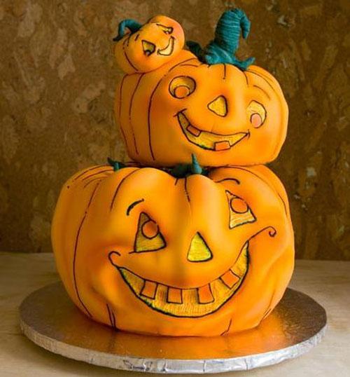 Foto della torta di Halloween n.77