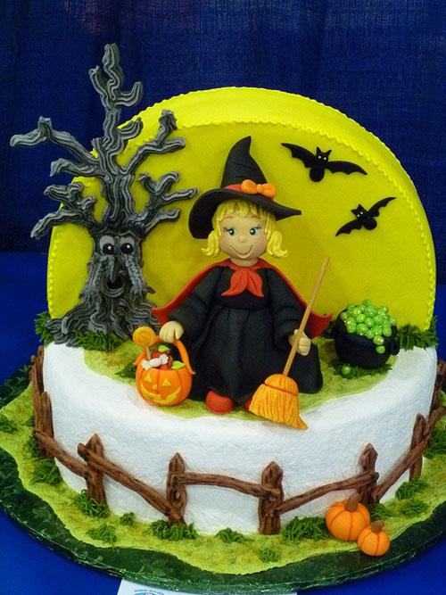 Foto della torta di Halloween n.78