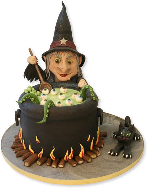 Foto della torta di Halloween n.79