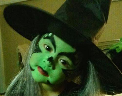 Trucco di Halloween da strega n.05