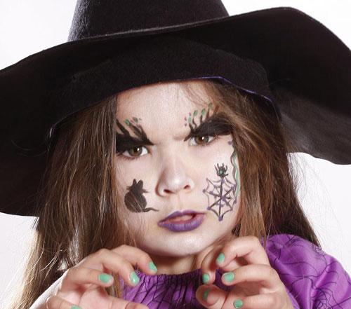 Trucco di Halloween per Viso di Bambini  65 Idee con Foto ... 7d7093452285