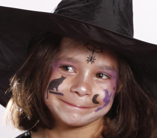 Trucco di Halloween da strega n.12