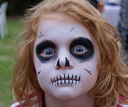 Trucco di Halloween da zombie n.02