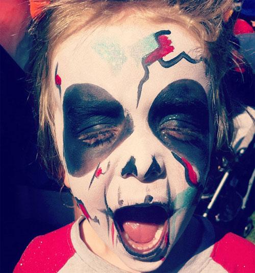 Trucco di Halloween da zombie n.04